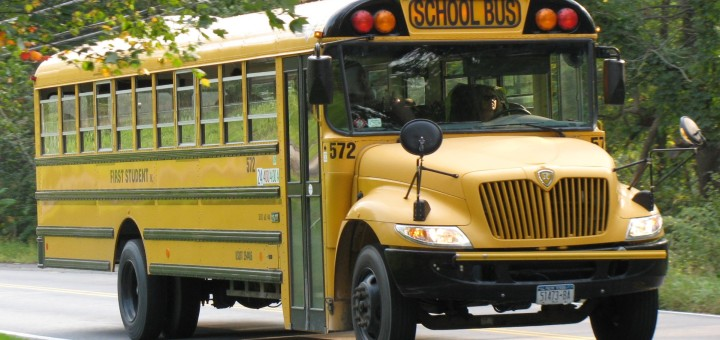 ICCE_Fist_Student_Wallkill_bus